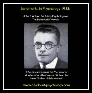John Watson Quotes Psychology
