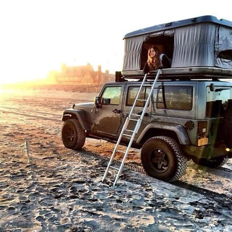 jeep pop up tent trailer jeepwrangleroutpost com jeep fun times 9 jeep