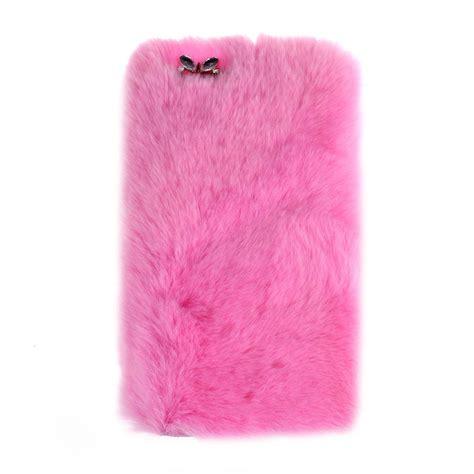 fluffy villi fur plush wool bling cover skin for iphone 7 plus 5 5inch ebay