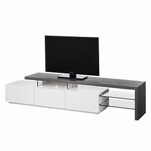 Tv Lowboard Beton : tv lowboard katakana iii hochglanz wei grau roomscape m bel preiswert online kaufen ~ Indierocktalk.com Haus und Dekorationen