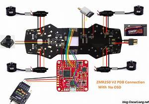 Zmr250 V2 Build Log - Mini Quad With Pdb