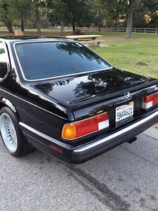 1988 Bmw M6 Rear Quarter