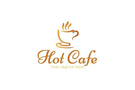 Whether you need a coffee logo, barista logo, food logo, our logo maker can generate hundreds of cafe logo ideas tailored just for you. Hot Café - Creative Stock Logo Design Coffee Shop (4439 ...