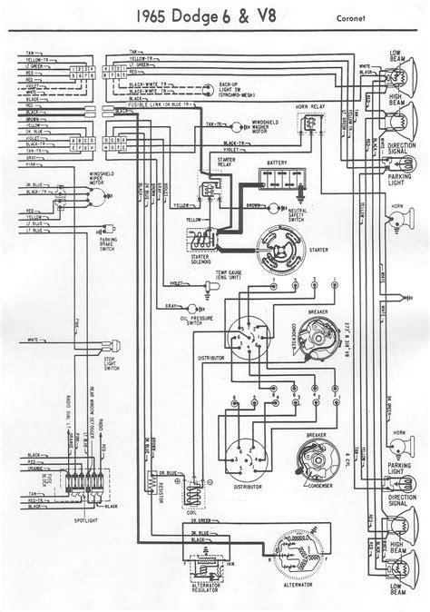 Wiring Diagram Vintage Dodge Coronet Bob Garage