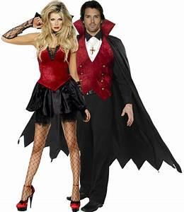Halloween Paar Kostüme : halloween kost m vampirpaar paarkost me und g nstige faschingskost me vegaoo ~ Frokenaadalensverden.com Haus und Dekorationen
