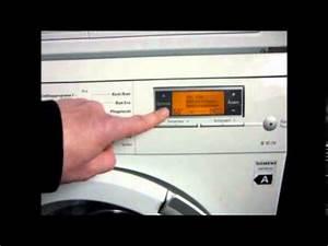 Siemens Waschmaschine Schleudert Nicht : waschmaschine teil 5 kindersicherung ausschalten siemens youtube ~ Orissabook.com Haus und Dekorationen