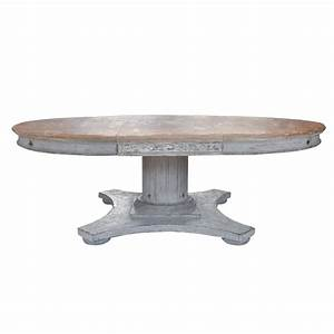 Italian, Round, Wood, Dining, Table, With, Leaf, At, 1stdibs