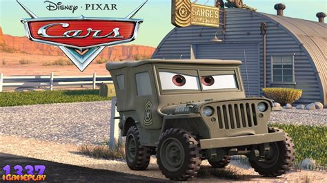 Cars 2 Sarge by Cars 2 The Sarge Character Gameplay
