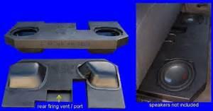 Fox Acoustics Dodge Ram Quad  U0026 Crew Cab Dual 12 U2033 Vented