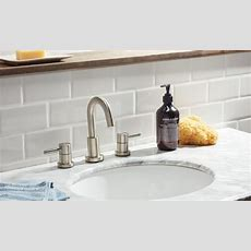 How To Install A Tile Backsplash In The Bathroom