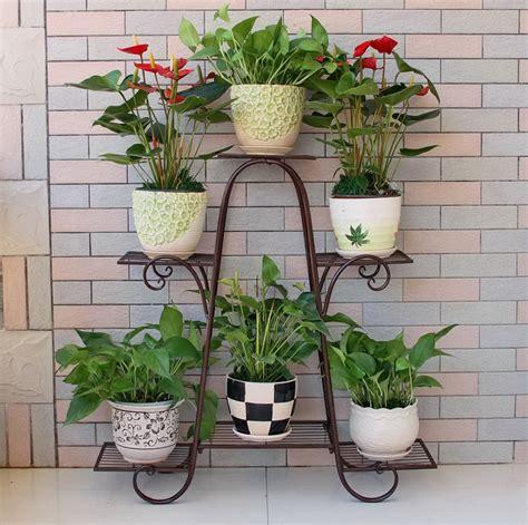besar ukuran pemegang pot bunga taman bunga pot balkon