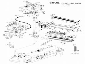Minn Kota Trolling Motor Parts Diagram