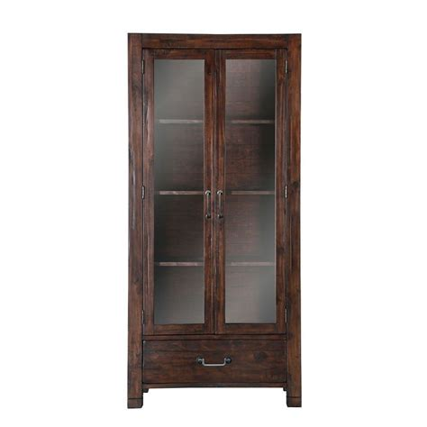 kitchen curio cabinet pine hill curio cabinet china cabinets and curios 1052