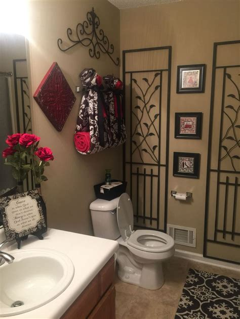 red  black bathroom design ideas black bathroom decor