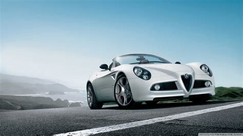 Download Alfa Romeo 8c Spider Car 2 Wallpaper 1920x1080