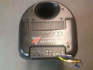 Purchase Kenwood Ksc Wa100 Powered Subwoofer Motorcycle In