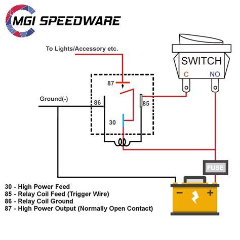 Automotive Fused Relay Spst Mgi Speedware