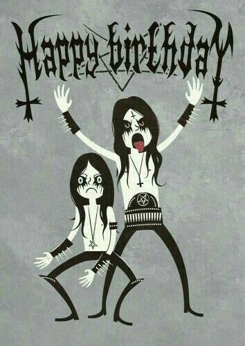 heavy metal happy birthday card wwwgreatnameplatescom