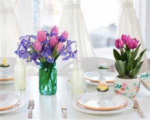 Kleine Weiße Vasen : 1001 ideen f r tischdeko wie sie den tisch mit blumen ~ Michelbontemps.com Haus und Dekorationen