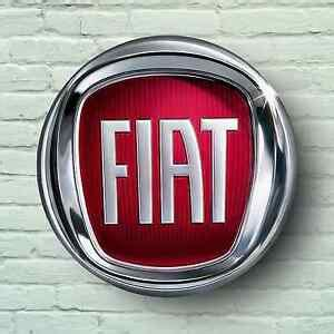 Fiat Sign by Fiat Logo 2ft Large Garage Sign Wall Plaque 500 Abarth