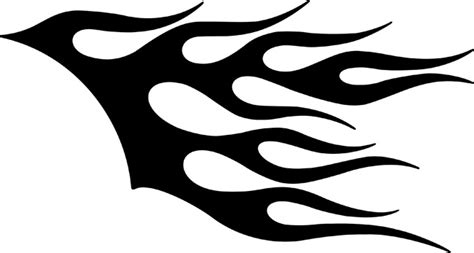 tribal hair design templates free flame patterns stencils download free clip art free