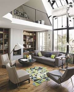 Comment Agencer Son Salon : appartement paris d co et design 12 photos inspirantes c t maison ~ Melissatoandfro.com Idées de Décoration