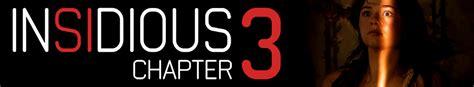 Insidious Chapter 3   Movie fanart   fanart.tv