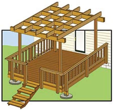 plans pergola  deck plans  wood stain