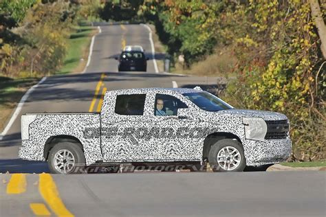 chevrolet silverado spied wearing  camo