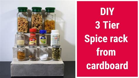 How To Make A Spice Rack Out Of Wood by How To Make A Spice Rack Out Of Cardboard Spice