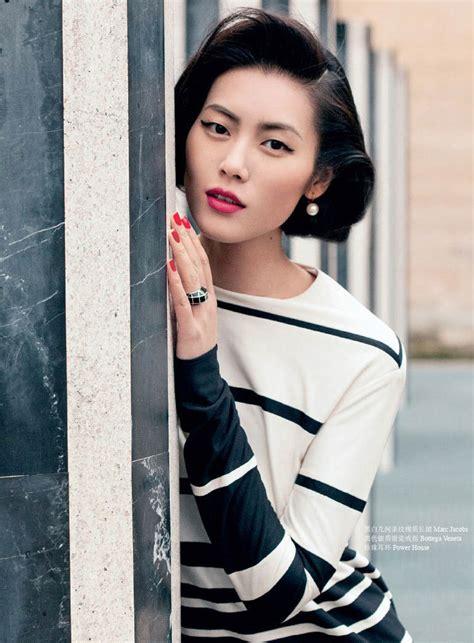 liu wen dubbed  asian supermodel   china cover shoot fashion  rogue