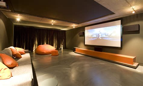 simple elegant  affordable home cinema room ideas architecture design