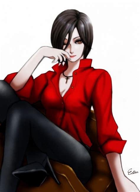 Serre Yu Wong by Ada Wong Resident Evil Pinterest Ada Wong Anime And