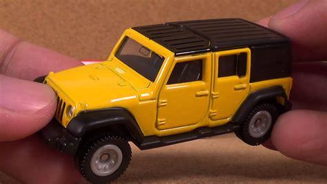 toy jeep car tomica 080 jeep wrangler yellow takara tomy japan