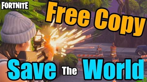 fortnite save  world  codecopy closed youtube