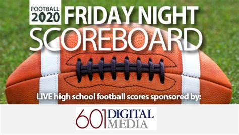 Week 14: Live high school football scores - Mississippi's ...