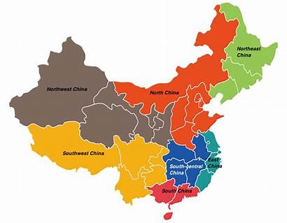 China Regions Map Northeast Touropia Country