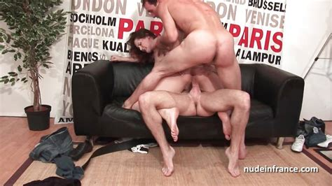 Amateur Casting French Redhead Hard Double Penetrated