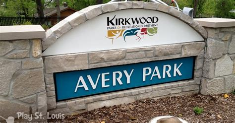 play st louis avery park kirkwood 464 | sign