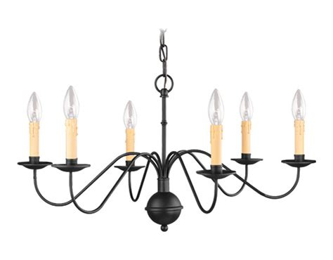 livex lighting black 6 light 360w chandelier with