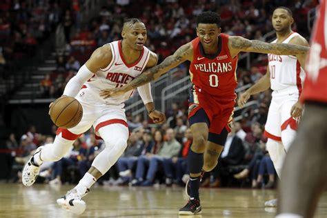 Kèo bóng rổ - New Orleans Pelicans vs Houston Rockets ...