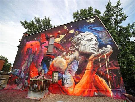 recap mural international public art festival   montreal canada streetartnews