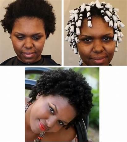 Perm Hair Natural Rod Rods Tutorial 4b