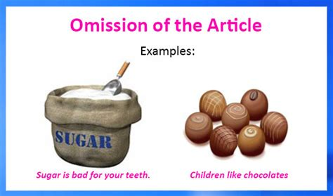 learn english grammar  omission   article