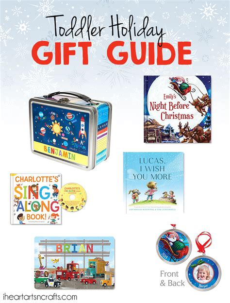 toddler holiday gift guide personalized gifts they ll