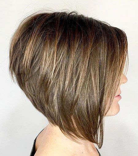 Wispy Layers on Bob haircut 4 Short Hairstyles 2019