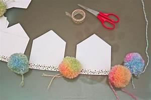 Guirlande De Pompon : diy guirlande pompon amazing diy dco trois types de pompons en papier de soie with diy ~ Teatrodelosmanantiales.com Idées de Décoration