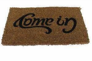 "Doormat : Come In & Go Away ""Ambigram"""
