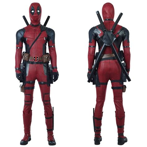 buy deadpool costume deadpool cosplay costumes timecosplay