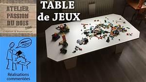 Table Jeux D Eau : une table de jeux pour enfants upcyling youtube ~ Melissatoandfro.com Idées de Décoration